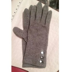 Lauren Elegant Wool Cashmere Blend Gloves NWOT